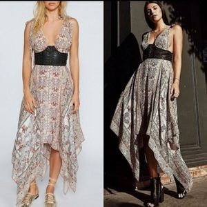 NEW RARE FREE PEOPLE You For Me Cream Maxi